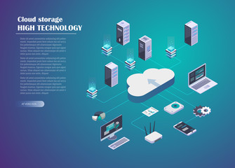 Cloud Storage and Network connection