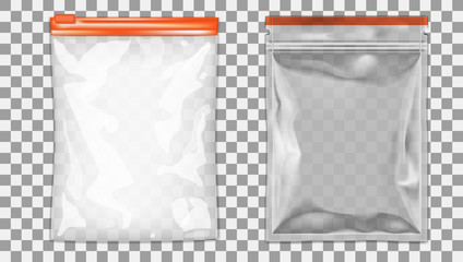 Filled Foil Pouch Bag Packaging With Zipper