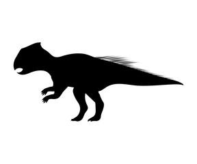 Archaeoceratops silhouette dinosaur prehistoric animal