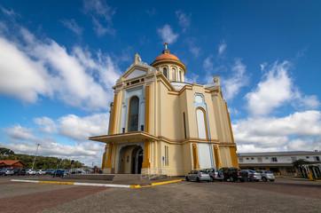 Nossa Senhora de Caravaggio Sanctuary Church - Farroupilha, Rio Grande do Sul, Brazil