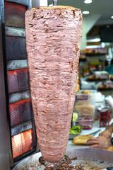 Turkish doner kebab ( shawarma )