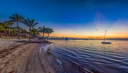 Islamorada Florida Keys Resort Panorama at Sunrise