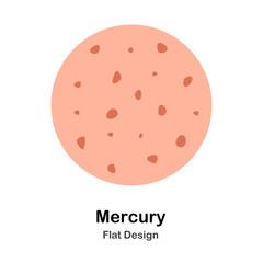 Mercury Flat Illustration