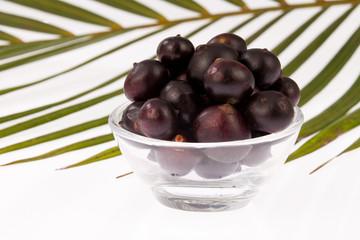 Acai amazonian fruit (Euterpe oleracea)