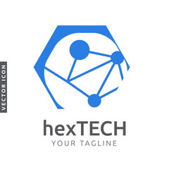 Hexagon Technology Logo/Icon