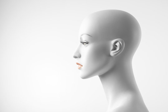 White Female Mannequin Profile