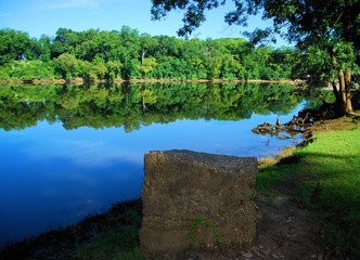 The Coosa / The Coosa River in Wetumpka, Alabama
