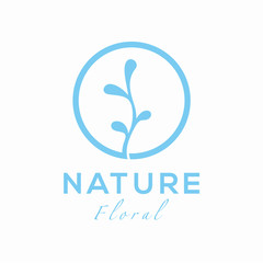 Nature Oil Logo Design Concept