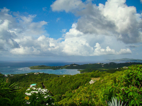 Scenic Overlook US Virgin Islands St. Croix
