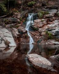 Cascata, parque nacional, peneda-gerês