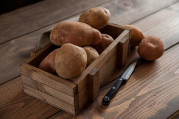 Patata nueva y patata vieja