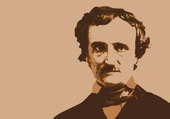 Edgar Poe - écrivain - portrait - personnage - célèbre - littérature - célèbre - américain -romancier