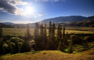 Mountain Valley (Tekes, Kazakhstan)