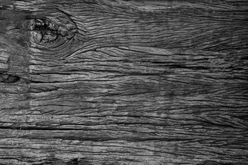 Black wood texture with grunge for abstract background.