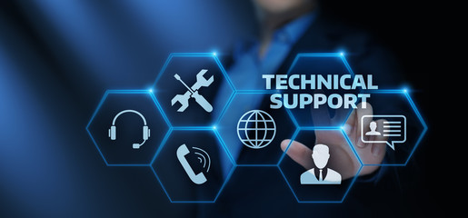Technical Support Customer Service Business Technology Internet Concept