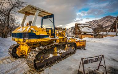 Snow Plow Plough