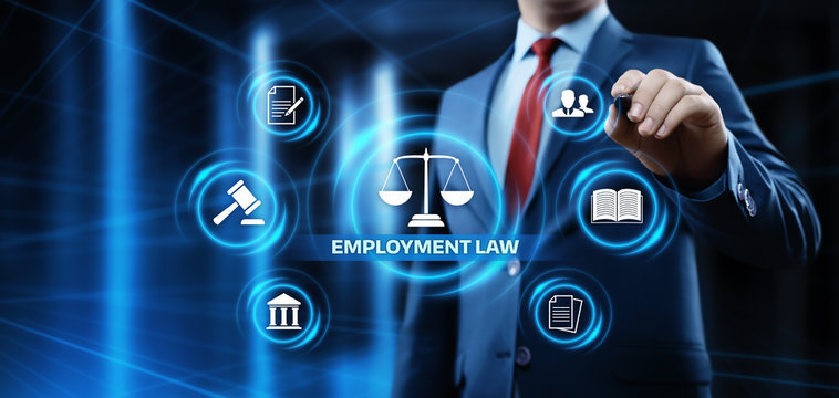 Employment Law Legal Rules Lawyer Business Concept