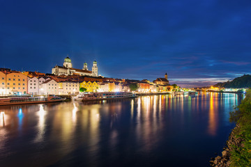 Passau bei Nacht - Passau Night