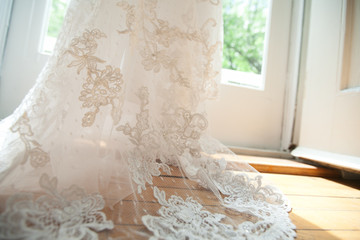 Bridal gown detail 1