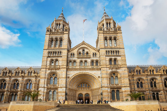 The Natural History Museum in London, UK