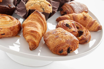 mixed brakfast pastries