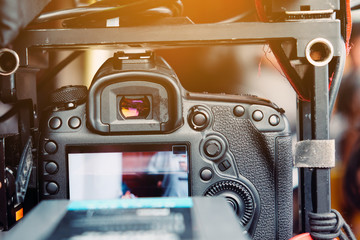 Detail image of video shoot professional