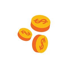 Coin Money Logo Icon Design