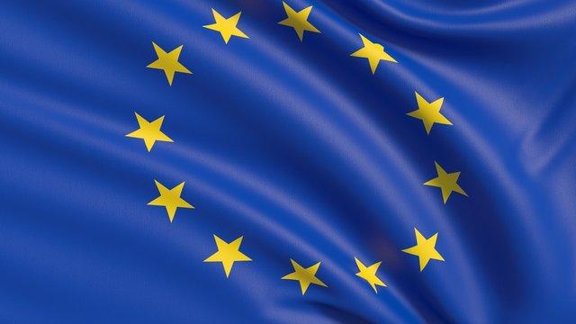 The European flag, EU Flag