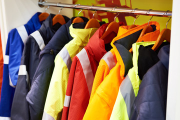 Jackets for workwear Wall mural