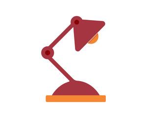 standing lamp image vector icon logo symbol