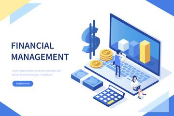 financial management - fototapety na wymiar