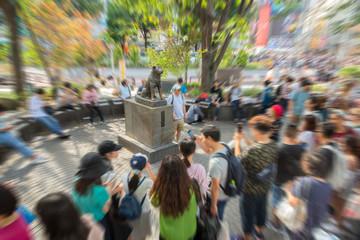 Aluminium Prints Historic monument 渋谷ハチ公像界隈