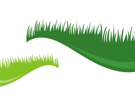 grass logo background