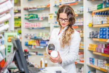Poster Pharmacie Pharmacist