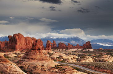 Wall Mural - Arches National Park, Utah, USA