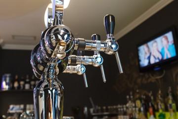 Crane defoamer for bottling beer
