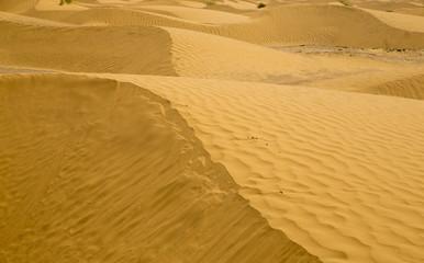 Sand desert, Tunisia