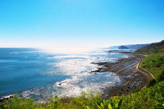 View from Horikiri Pass in Miyazaki, Japan