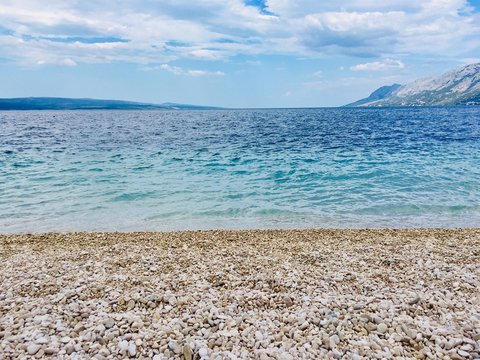 Beach near Split, Croatia