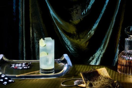 Cocktail still life