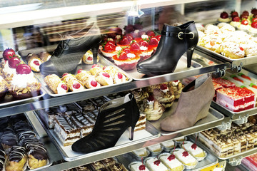 Shoes and desserts
