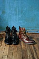 Three boots