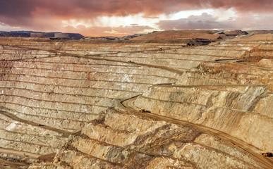 Super Pit Gold mine, Kalgoorlie, Western Australia, Australia