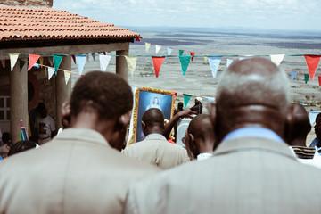 African Christian Mass in Kenya  Wall mural