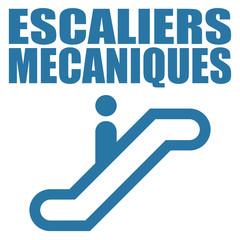 Logo escaliers mécaniques.