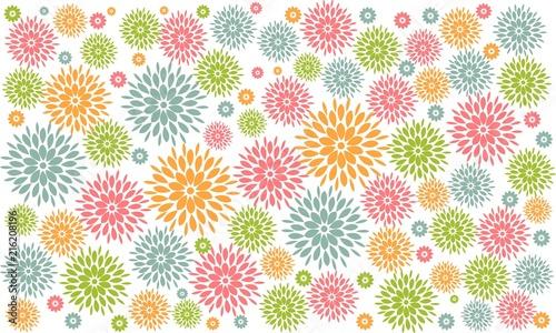 Fondo De Flores En Colores Pastel Stock Image And Royalty Free