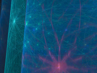 abstract fractal digital background design