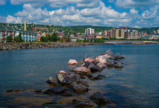 lake superior waterfront, duluth