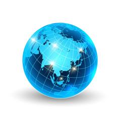 地球 世界 地図 アイコン