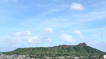 Wall Mural - ハワイ ダイヤモンドヘッド